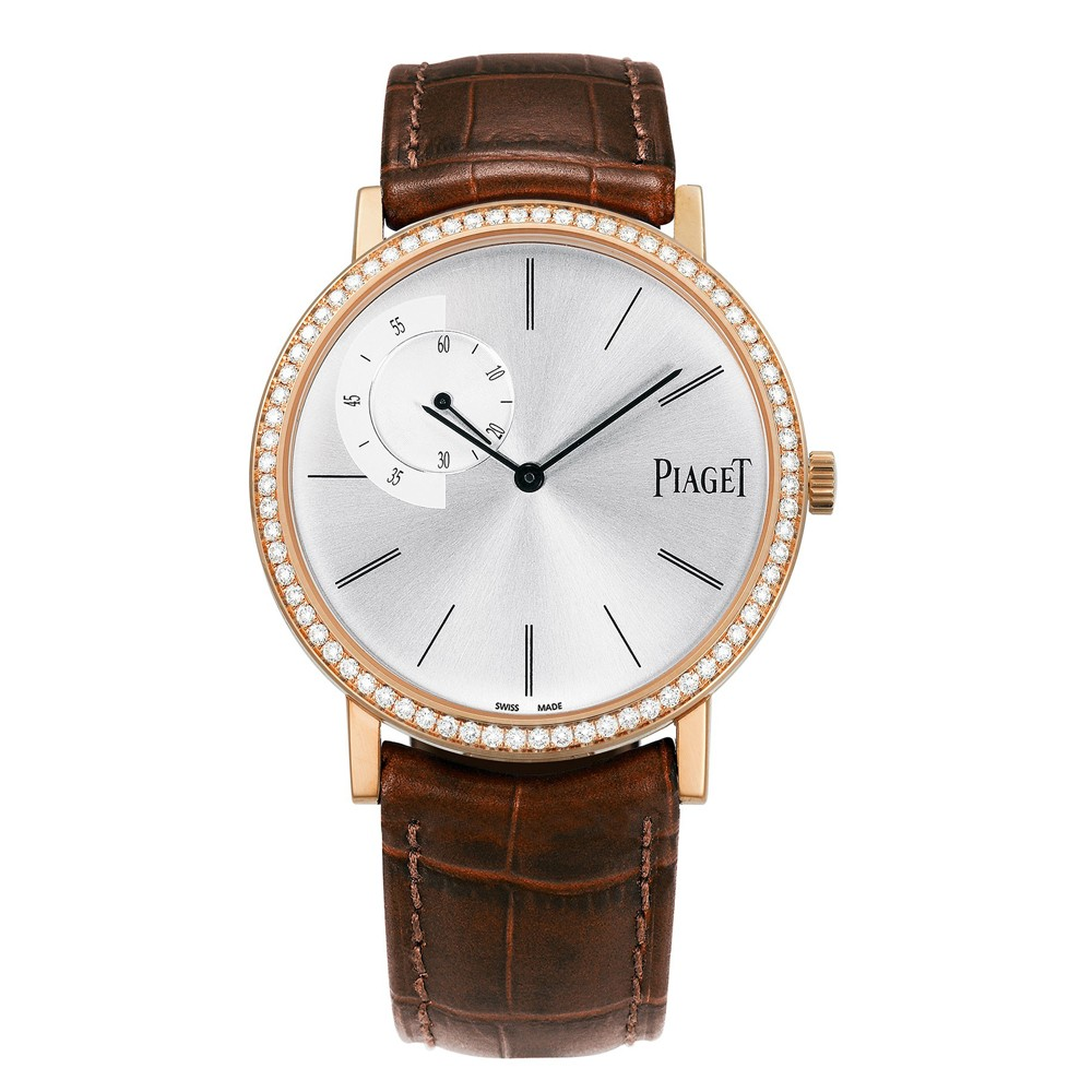 Piaget watches altiplano ultra thin mechanical 40 mm rose gold piaget luxury watches for Altiplano watches