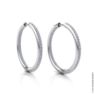 Mila Hoop Earrings