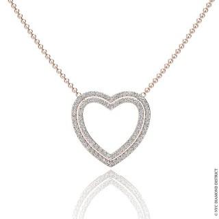 Kristine Heart Necklace