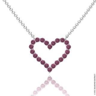 Nicole Heart Necklace