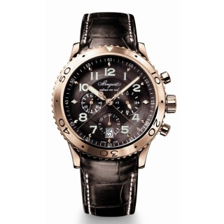 Breguet Watches - Type XXI Transatlantique Fly-Back Chronograph 42.5mm - Rose Gold