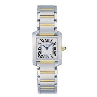Cartier  Tank Francaise Small Steel and Yellow Gold Watches